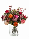 Bouquet flame roses 23 Stems (vase not included)
