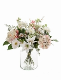 Bouquet soft pastels 15 Stems (vase not included)