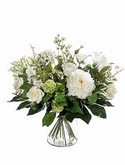 Bouquet white dream 20 Stems (vase not included)
