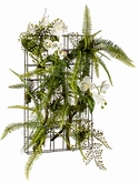 Fern|orchid On iron stand