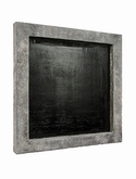 Frame Polystone raw grey finish